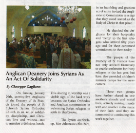 From the Diocesan Gazette, March 2017